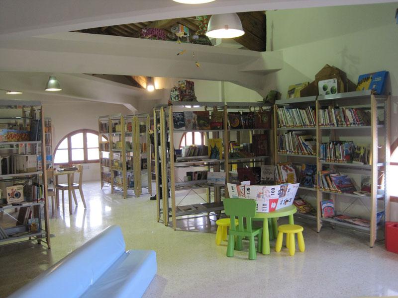 Lo spazio dedicato ai ragazzi della Biblioteca comunale Antonelliana di Senigallia