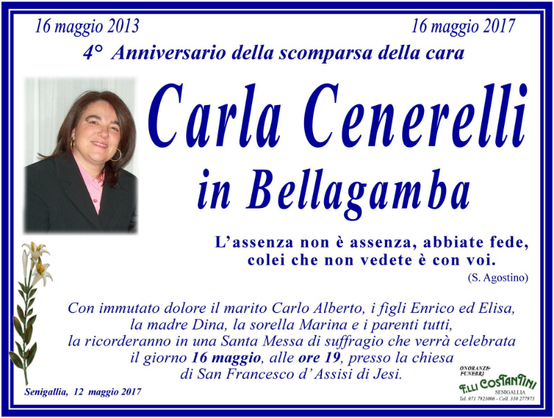 Carla Cenerelli in Bellagamba